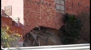 Parte de una vivienda se viene abajo en Bigastro