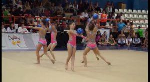 Gran actuación de la Escuela Deportiva Municipal de gimnasia rítmica de Orihuela