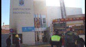 La Policía Local de Rojales coordina los trabajos de seguridad ante un incendio