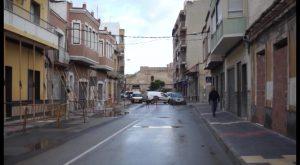 La calle Salitre de Callosa se reabrirá en unos cuatro meses