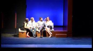 El amor es cosa de cuatro en la obra de teatro «Dos más dos»
