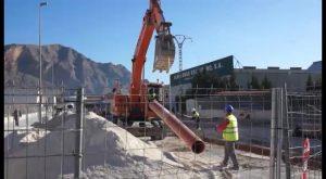 La Concejalía de LV y RSU de Orihuela repara accesos a la nave de servicios