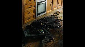 Madre e hija afectadas por inhalación de humo al quemarse la campana extractora de su cocina