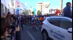 Orihuela acogió el fin de semana la salida de la Etapa Reina de la Vuelta Ciclista a la CV