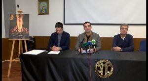 Un detalle de los pies del Crucificado anuncian la Semana Santa de Torrevieja 2018
