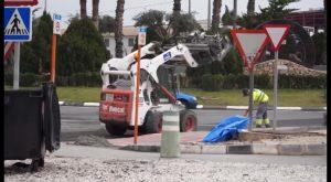 El asfaltado da paso a la fase final de las obras de la CV-900 en Callosa