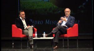 Vicente del Bosque presenta el libro del oriolano Pedro Meseguer