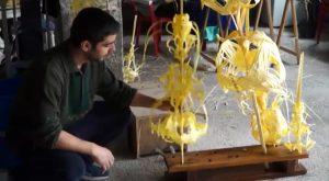 La palma blanca de Domingo de Ramos es uno de los oficios más antiguos que se conservan