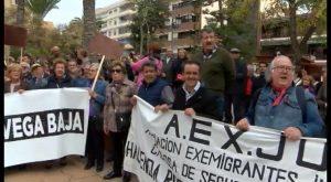 Torrevieja acoge una multitudinaria manifestación para reivindicar unas pensiones dignas