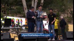 """Diego Villagordo y Javier Fernandez, 1º y 2º premio Poesia deportiva """"Miguel Hernández y el fútbol"""""""