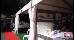 La XVI Feria del Comercio y Outlet de Almoradí atrae a cientos de personas en su inauguración