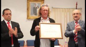 El jugador de golf Miguel Ángel Jiménez es nombrado Hijo Adoptivo de Rojales