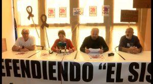Los pensionistas anuncian nuevas movilizaciones en la comarca
