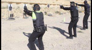 Policía Local de Rojales inicia prácticas de tiro con fuego real simulando situaciones de estrés