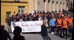 Orihuela acoge el inicio de la XXI edición de la Senda del Poeta