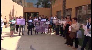 Protestas en la comarca tras la sentencia judicial a La Manada