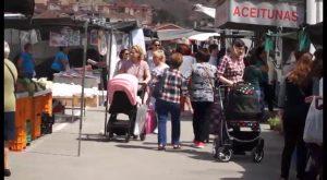 El mercado de los martes de Orihuela en declive