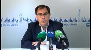 """Albaladejo augura al nuevo Gobierno de P. Sanchez el mismo futuro que al Gobierno local: """"ninguno"""""""