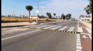 Pilar de la Horadada instala reductores de velocidad en las principales vías del municipio