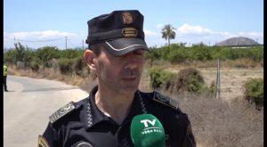 La Policía Local de Callosa cuenta con una Unidad Rural de Medio Ambiente para delitos de la huerta