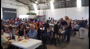 Afiliados y simpatizantes del PP celebran tres años de gobierno de Emilio Bascuñana