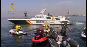 La Guardia Civil pone en marcha campañas de control de embarcaciones deportivas y motos acuáticas