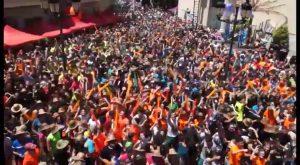 El Festival del Chupinazo de Catral reúne a miles de personas