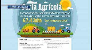 La Feria Agrícola de San Fulgencio 2018 será celebrada los días 6,7 y 8 de julio