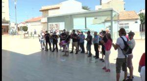 Nueva protesta de los policías en Pilar de la Horadada