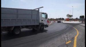 Obras Públicas concluye las obras para mejorar el acceso Este a Bigastro en la CV-95