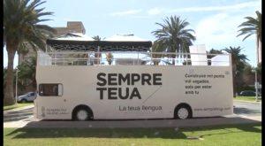 El autobús de promoción del valenciano de GV llegará a la Vega Baja en noviembre