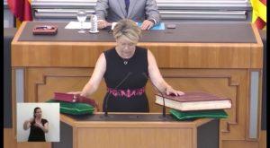 La guardamarenca Carmen Verdú se estrena como Diputada Provincial
