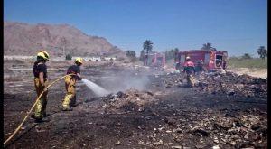 La Vega Baja registra dos incendios de cañar y vegetación en menos de 24 horas