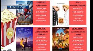 Un nuevo ciclo de cine de verano llega a Benejúzar