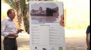 El I Festival Internacional de Guitarra del Mediterráneo se celebrará en Orihuela