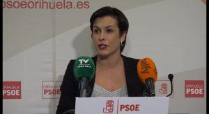 Carolina Gracia presenta su candidatura por el PSOE para la Alcaldía de Orihuela