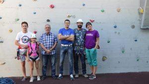 Albatera inaugura el rocódromo municipal y zona de escalada