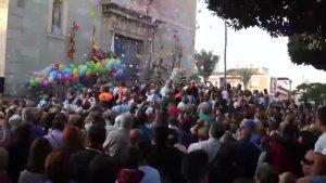 TV Vega Baja ofrece en directo la salida de la Romería del Pilar de Benejúzar