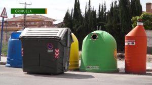 Orihuela incrementa el reciclado de envases de vidrio un 7% respecto al año pasado