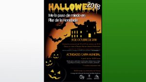 En Pilar de la Horadada «te lo pasarás de miedo» especial Halloween