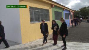 Más cerca de la apertura de la escuela infantil de San Miguel