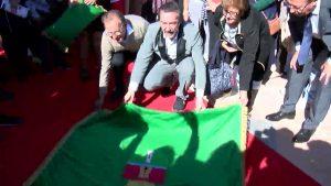 El actor Ginés García Millán ya tiene su estrella en el Paseo de Cine de Pilar de la Horadada