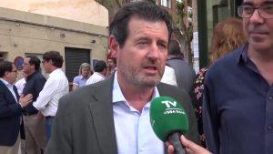 Císcar: «El cierre del Tajo-Segura es una postura ideológica del PSOE»