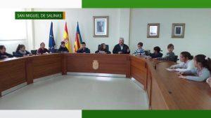 Conmemoración 40 aniversario Constitución Española en San Miguel de Salinas