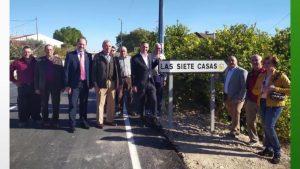 Finalizan las obras de adecuación de la carretera que une La Murada con La Matanza