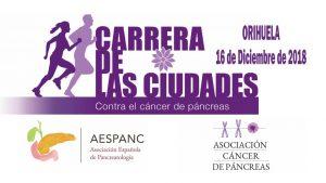 Carrera contra el cáncer de páncreas en Orihuela