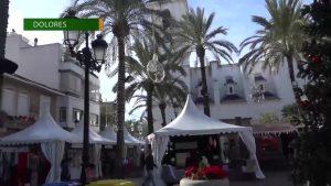 Dolores saca sus encantos a la calle en la V edición de su Feria de Navidad