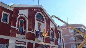 El Ayuntamiento de Almoradí mejora el Teatro Cortés