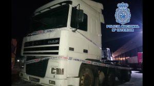Detenidos en Orihuela por robar presuntamente dos camiones en Málaga y Móstoles