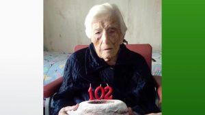 Ceferina Pérez Samper, la persona más longeva de Pilar de la Horadada